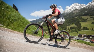 Auch beim Bergauffahren ist die MTB Fahrtechnik entscheidend.