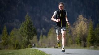 Meex beim Laufschuhtest