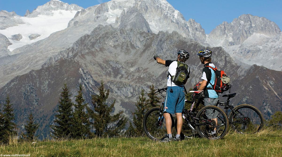 MTB in den Dolomiten