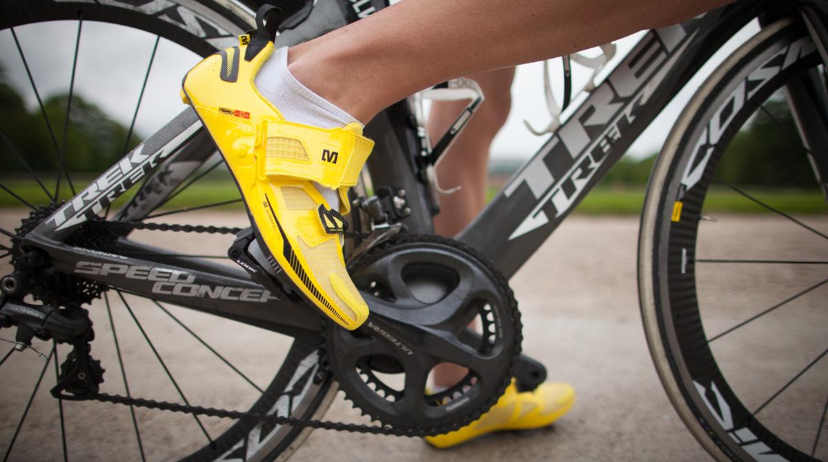 Rennradschuh für Triathlon