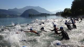 Cross oder klassisch: der Start im Wasser ist überall gleich.