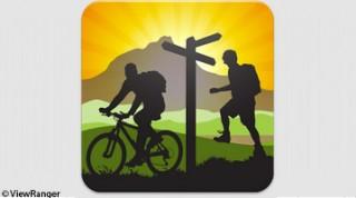 Der ViewRanger ist eine der beliebtesten Apps 2013.