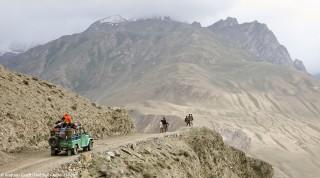 Der Karakorum Highway.