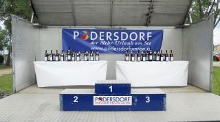 Triathlonpreis Wein für die Sieger