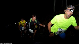 Start in den Morgenstunden Berfmarathon Traunsee