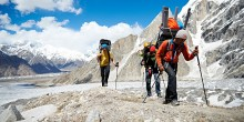 Bergsteigen im Karakorum