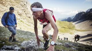 Andreas Goldbergerger beim Dolomitenmann