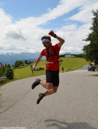 Bergmarathon Foto Teilnehmer