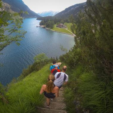 Laufstrecke am Achensee