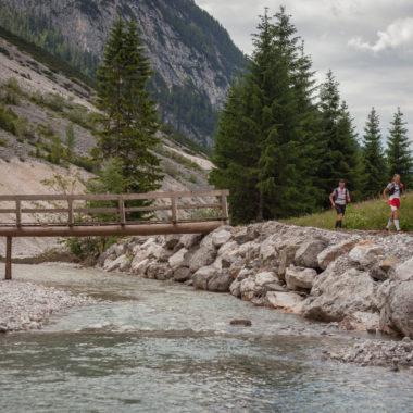 Strecke durch die Natur