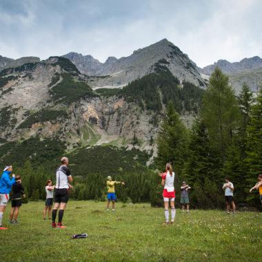Training im Trailrunning Camp