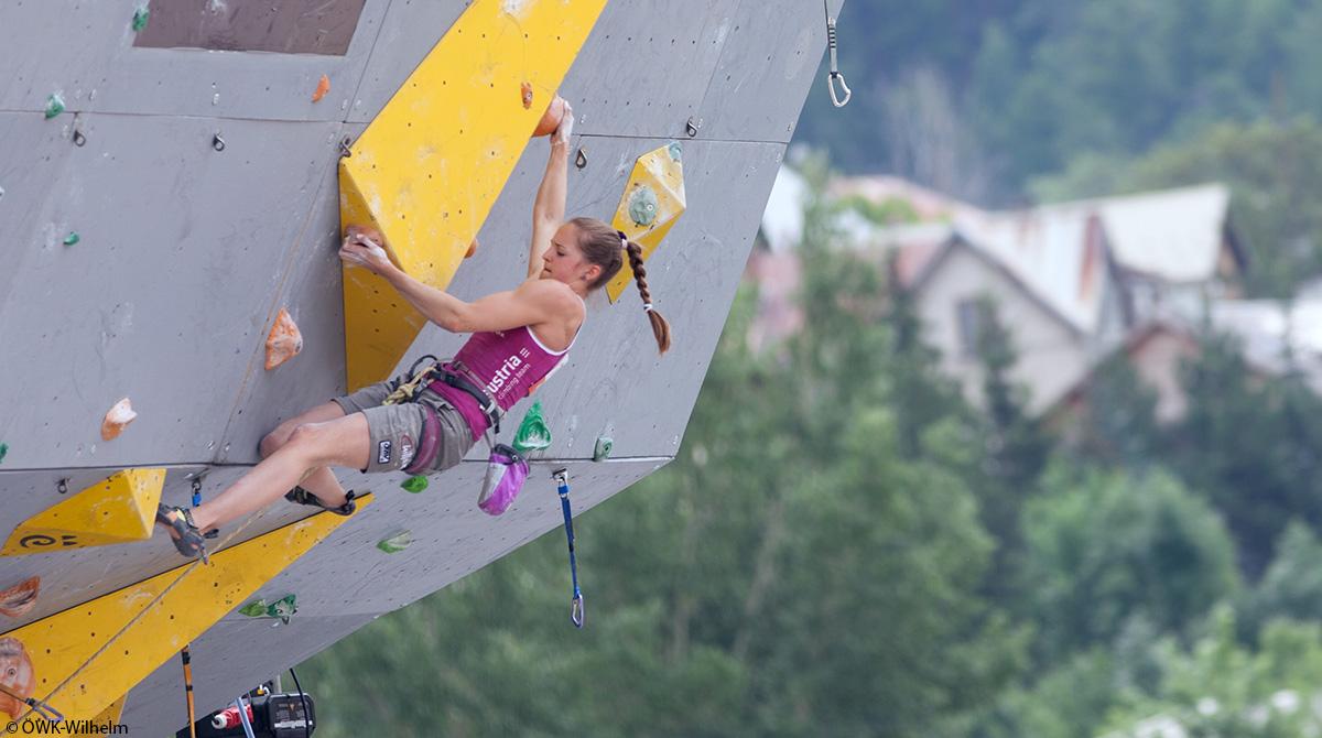 Wettbewerb Klettern in Frankreich