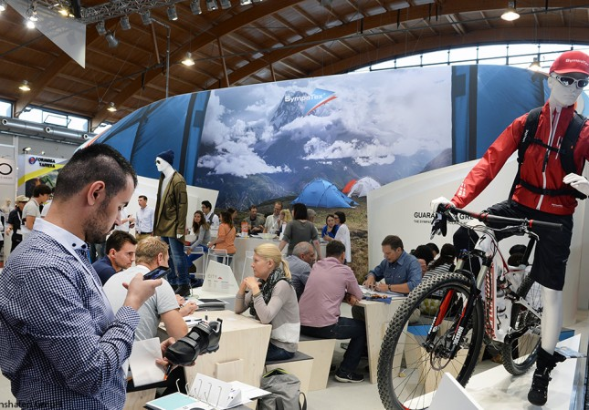Messe für Outdoorsport