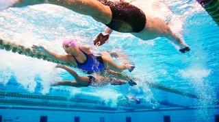 Triathlon Training Schwimmen