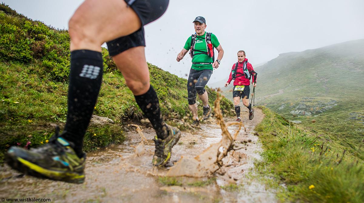 Trailrunning im Regen