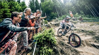 Strecke Downhill Weltcup Leogang