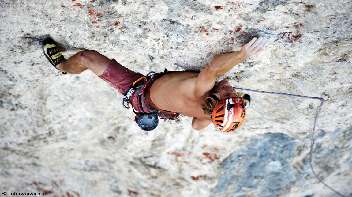 Guido Unterwurzache Klettern