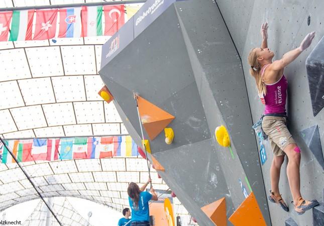 Katharina Saurwein Boulder WM