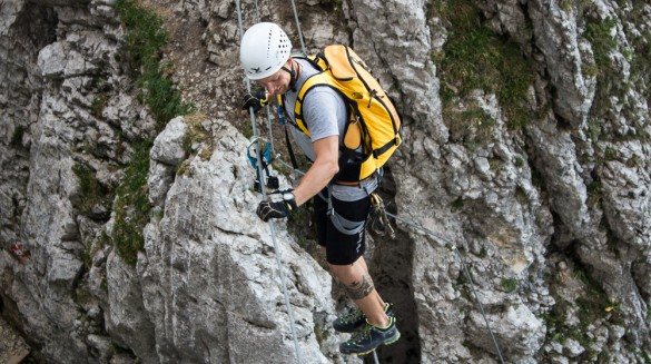 Klettersteig Wilder Kaiser : Klamml klettersteig wilder kaiser u2013 sportalpen.com