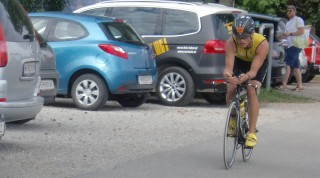 Radfahren Markus Marchfeld-Triathlon