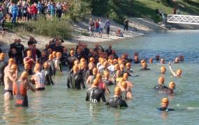 Schwimmstart Marchfeld Triathlon