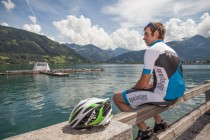 Rennradfahren am Zellersee