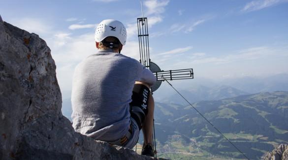 Klettersteig Wilder Kaiser Ellmauer Halt : Klamml klettersteig am wilden kaiser mit anschließender bergtour