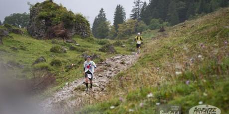 Meex auf Strecke des Karwendelmarsches