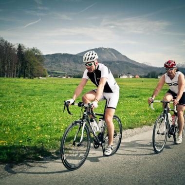 Gefuehrte Radtour in der Rennradregion