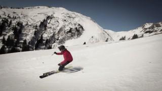 Salomon Skitest Abfahrt
