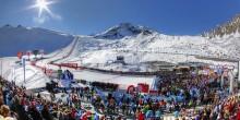 Zieleinfahrt und Fanbereich des Weltcup-Openings in Sölden