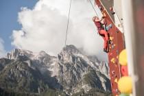 Kletterwand Top Rope Klettern