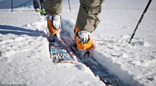 Waymaker Schuh und Backland Ski