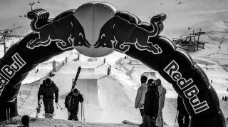 Contest Freestyle Skifahren