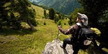 Wanderer in Obergurgl