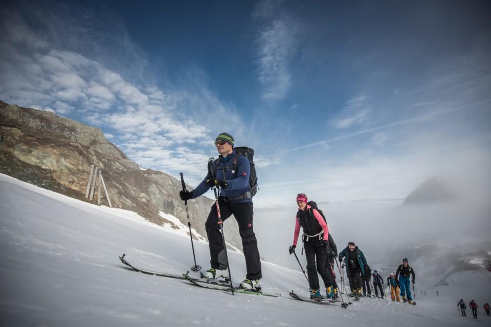 Skitourencamp, Skitouren