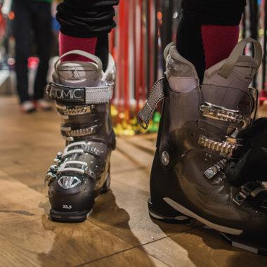 Bootfitting Skischuh