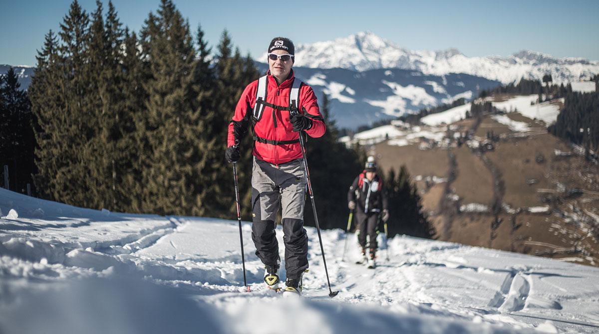 Skiroute am Ronachkopf