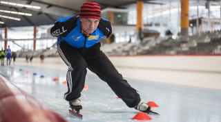 Eisschnelllauf Trainer