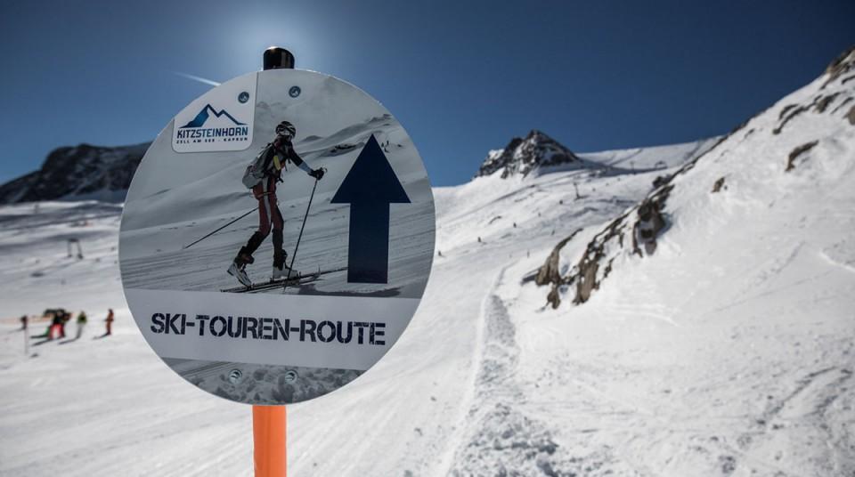 Kitzsteinhorn Skitourenrouten