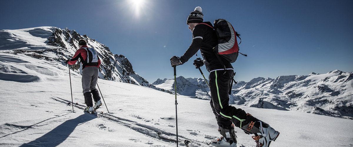 Sichere Routen am Kitzsteinhorn