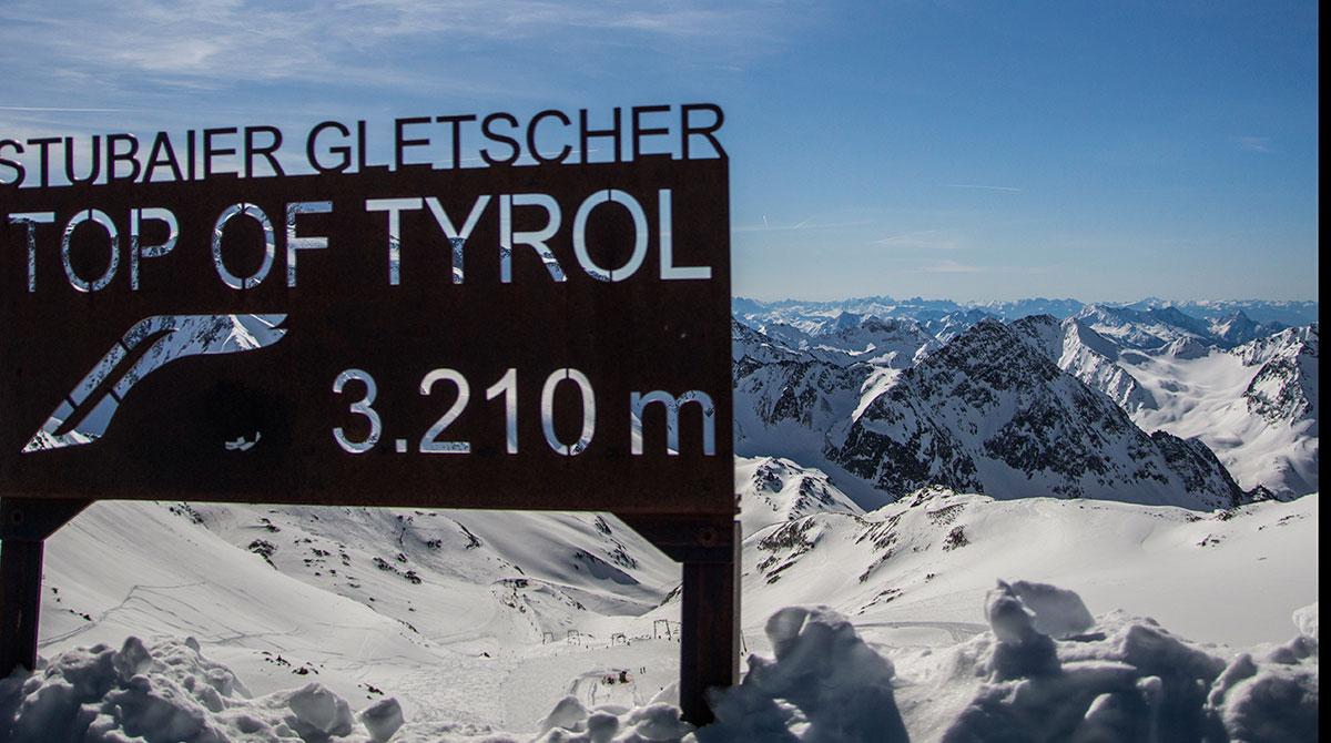 Stubaier-Gletscher-Skigebiet