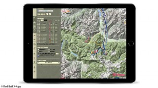 Online Tracking Strecke X-Alps