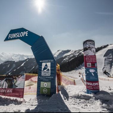 Funslope im Skigebiet Schmitten