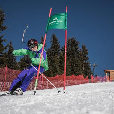Skifahren wie die Rennfahrer