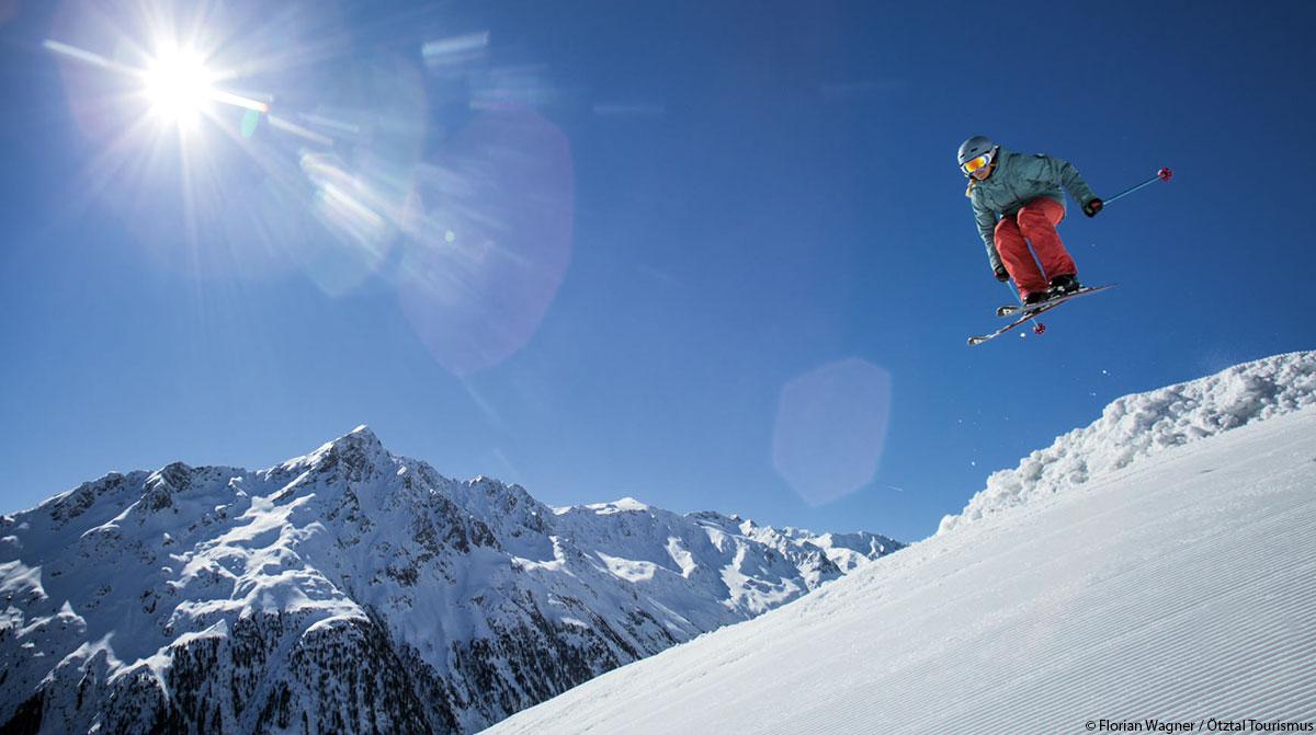 Firnschnee Skifahren Tirol