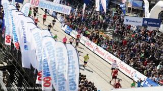 Läufer beim Linz Marathon