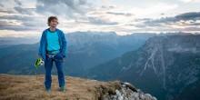 Rudi Hauser klettern