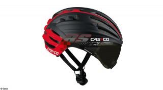 Casco-Speedairo-Schwarz-Rot