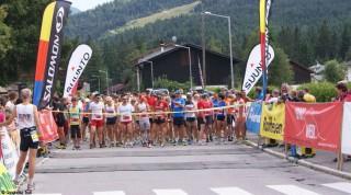 Start Ganghofer Trail Startlinie